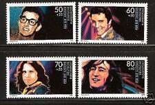 WEST GERMANY # B666-9 MNH Elvis Presley John Lennon