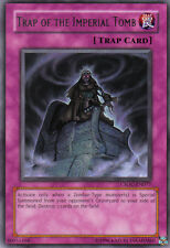 CSOC-EN077 YuGiOh! RARE Card TRAP OF THE IMPERIAL TOMB NM/MT CROSSROADS OF CHAOS