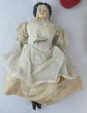 Vintage Antique Papier Mache China Doll Original Doll