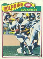 Topps 1977 Bob Griese Football Card #515