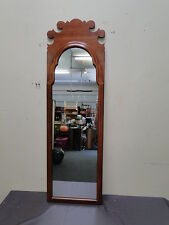 Solid Cherry Hanging Mirror by Monitor