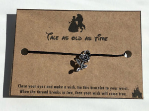 Disney Wish Bracelet / Friendship - Beauty and the Beast
