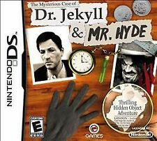 The Mysterious Case of Dr. Jekyll & Mr. Hyde RE-SEALED Nintendo DS DSI XL 3DS 2