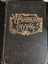 Life and Works of Washington Irving Volume 1 Vintage Collectible HB Book 1880