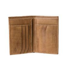 DV Portafoglio uomo verticale pelle Nappa Luxury CAMMELLO porta carte di credito