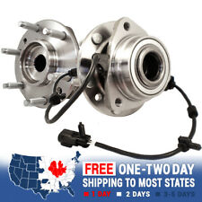 2 New Front Wheel Hub Bearing For Chevy Trailblazer GMC Envoy Bravada Rainier