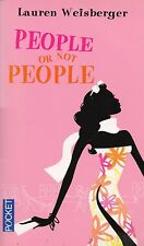 LAUREN WEISBERGER - PEOPLE OR NOT PEOPLE - POCKET