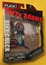Terry Adams Flatware BMX Freestyle Odyssey Flick Trix replica NEW ON CARD 2010