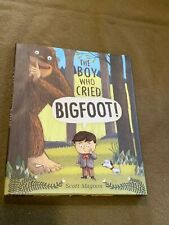 The Boy Who Cried Bigfoot Large Hardback Book by Scott Magoon