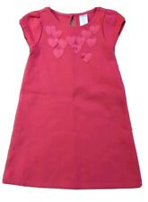 Gymboree red heart pointed A line dress  girls size 5