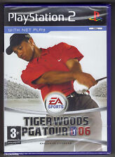 PS2 Tiger Woods PGA Tour 06, UK Pal, Brand New & Sony Factory Sealed