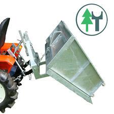 TM120V 1,20m 120cm verzinkt Schneeschaufel Schleppermulde Heckbox Kipper Mulde
