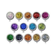GLITTERPAILLETTEN  Glitter Glitzer Glimmer Konfetti Nail Art Deko Farbwahl