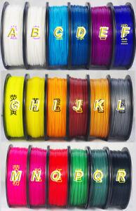 1x Mini 3D Printer Filament 1.75mm 3mm PLA 100g RepRap MarkerBot doodle