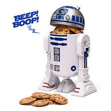 """STAR WARS R2-D2 TALKING COOKIE JAR 11"""" PLASTIC BRAND NEW GREAT GIFT"""