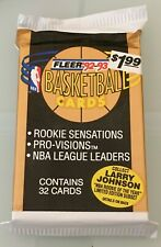 1992-93 Fleer 1 Jumbo Pack - Jordan - NBA - Rookie Sensations !