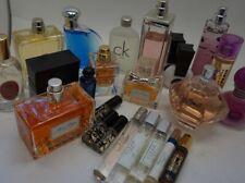 ASSORTED LOT Eau de Parfum Eau de Toilette Men Women AS-IS on pictures G22/22