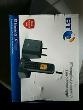 BT Elementos 1 km rango IP67 clasificado teléfono inalámbrico con contestador automático y N...