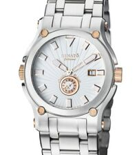 Limited to 100 - New Mens Renato Calibre Robusta 46mm Two Tone 316L Steel Watch