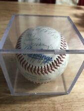 🔥 1997 Auburn  Doubledays team signed baseball South Atlantic League