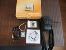 Canon PowerShot A550 7.1MP Digital Camera - Silver Hardly Used, Tested and good