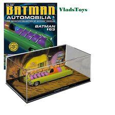 Eaglemoss 1:43 Automobilia Batmobile Batman #63 Mothman w/Magazine #60