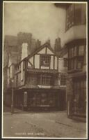Exeter, Devon. Martin's Gate & The Cathedral Art Gallery. 1927 Vintage Postcard