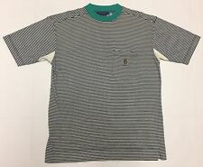 Vintage Tommy Hilfiger Striped Pocket T Shirt Crest OG Men's M Vtg 90s Asap