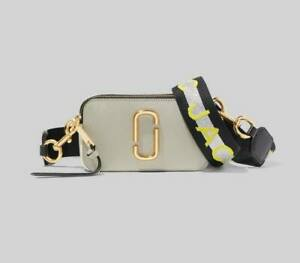 NWT Genuine Marc Jacobs Snapshot Small Camera Bag Crossbody dust multi SALES..