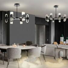 Kitchen Lamp Large Chandelier Lighting Black Pendant Light Bar LED Ceiling Light