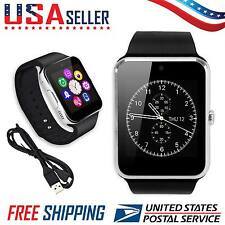 GT08 Bluetooth Smart Watch for Samsung HTC Android iPhone Camera SIM TF Slot USA