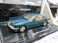 BENTLEY Continental R Coupe 1996 green grün met Sonderpreis Minichamps 1:43