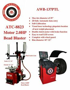 "***2.0 HP*** Tire Changer Wheel Changers Machine *Bead Blaster* 16""~28"" ATC-5733"