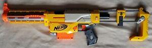 Nerf Dart Gun N-Strike Recon CS-6 with Shoulder Stock + Barrel Extension