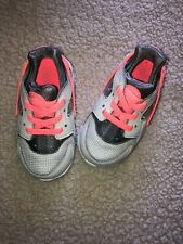 Nike Huarache Toddler Size 6C Peach/ Gray Hardly Worn