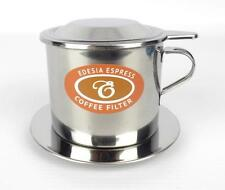 Size 8 Vietnamese Coffee Cup Filter Stainless Steel Phin Cà Phê - PUSH FILTER