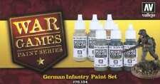 German Infantry 6 Paint Set for Model WW2 Soldiers (Vallejo 70154)