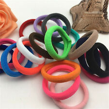 50Pcs Women Girl Hair Band Ties Elastic Rope Ring Hairband Ponytail Holder Lot