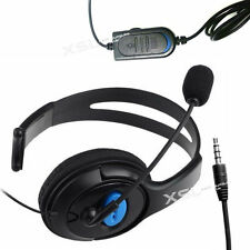 Single Ear-Cup Headset Headphones + Mic for PS4, PCs, Mobiles, Tablets