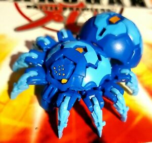 "BAKUGAN ""Webam Ultra"" Aquos Blue Battle Planet Battle Brawlers Rare Unique"
