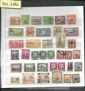 BIS_LIKE:many stamps diff. GB Col.  MH/ used LOT JL 03-559