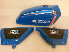 SUZUKI TS TS100C TS125C TS185C FULL PAINTWORK DECAL KIT
