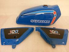 SUZUKI TS TS100C TS125C TS185C FULL PAINTWORK DECAL KIT