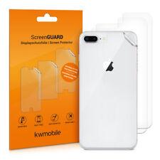3x Schutz Folie Rückseite für Apple iPhone 7 Plus 8 Plus Hinten Handy Klar