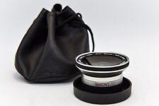 Adaptateur Grand Angle 0.45X BOWER Lens AF Macro Objectif pas de vis 37mm/36.5mm