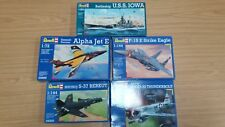 Joblot 5 Revell Planes Aircraft Military Aeroplanes New Plastic Model Kits #301