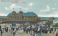 LONG BEACH CA – Pleasure Pier and Auditorium