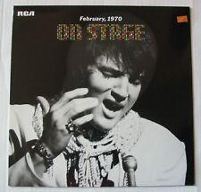 ELVIS PRESLEY (LP 33T) ON STAGE FEBRUARY 1970 - EXCELLENT ETAT