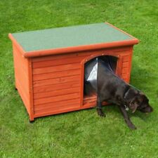 Pinewood Flat-Roofed Dog Kennel - 3 Sizes