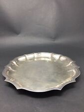 International Silver CO Chippendale Silver Plate Tray